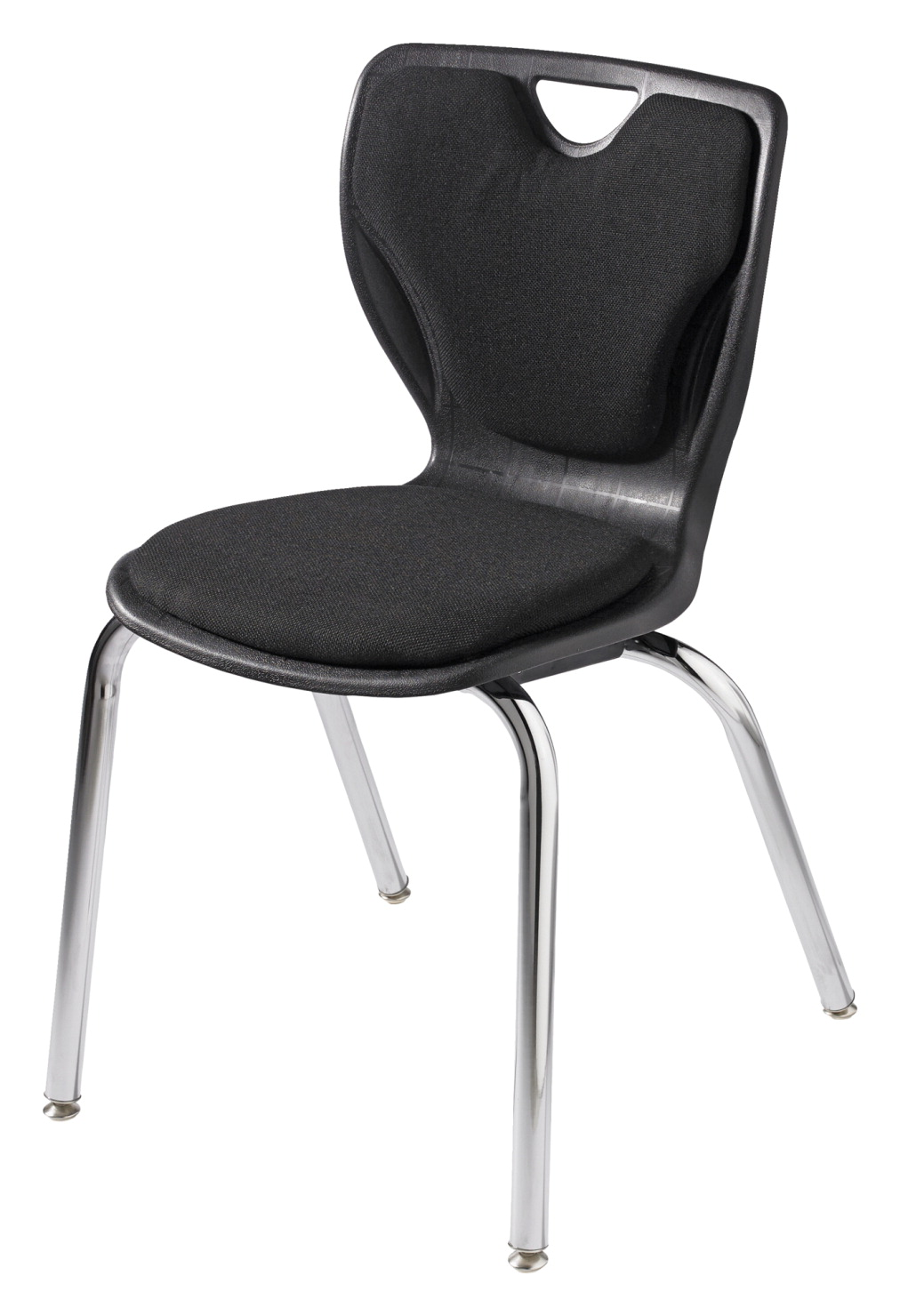 Classroom Select Contemporary Chair, Padded, 20 Inch A+ Seat Height, Chrome Frame, Various Options