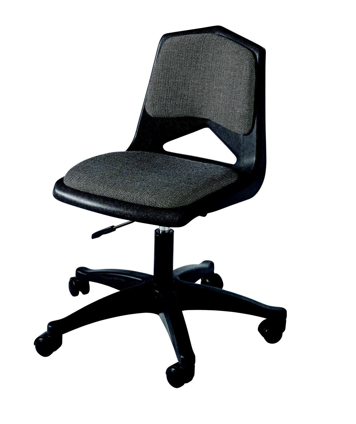 Royal Seating 1100 Pneumatic Lift Padded Chair with Casters, 17-3/4 to 22-1/4 Inch Seat, Various Options