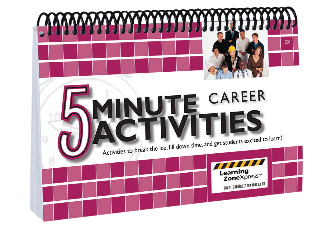 Learning ZoneXpress 5 minute Career Activities