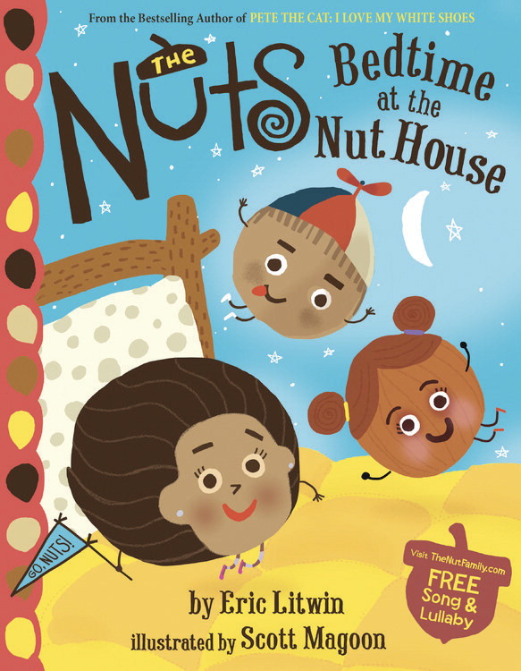 School Specialty The Nuts Bedtime at the Nut House Hardcover Book