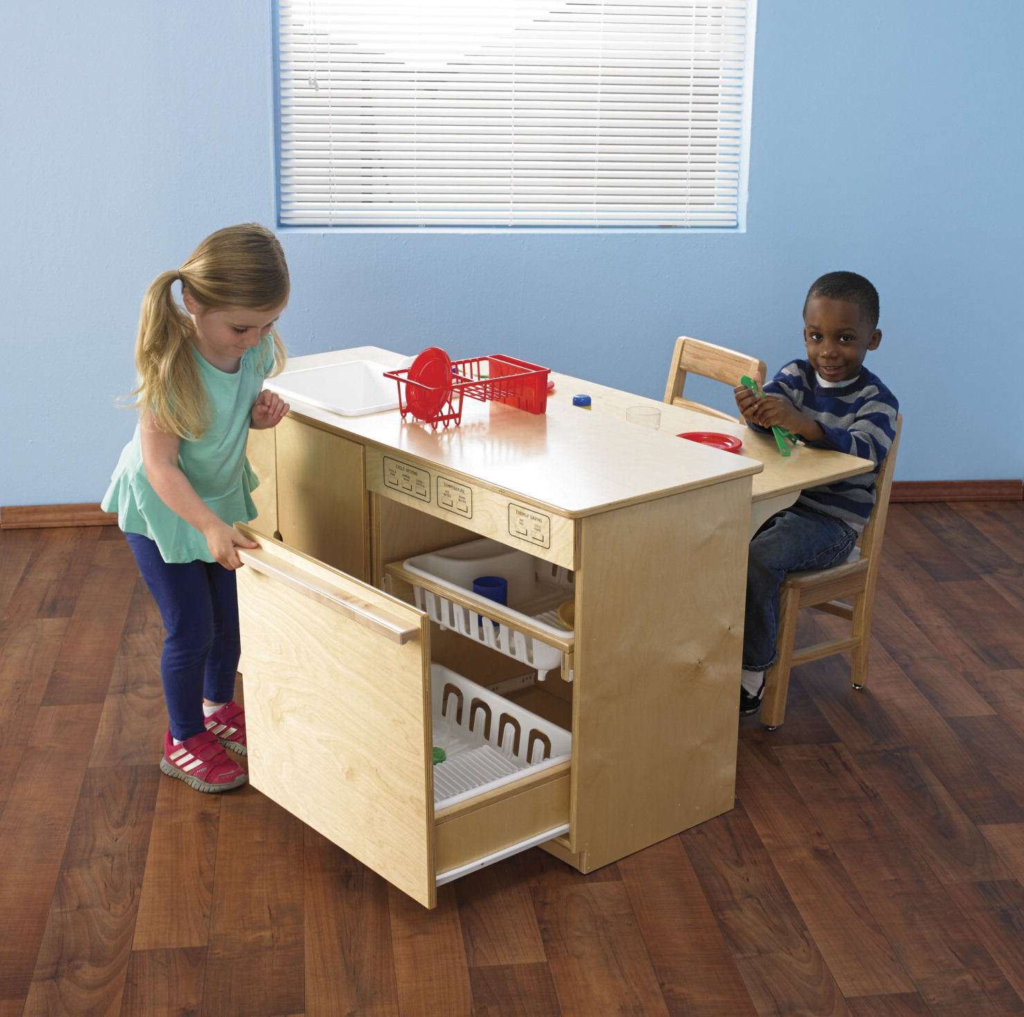 Childcraft modern sink and dishwasher combo school for Child craft play kitchen