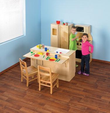 Childcraft kitchen complete set classroom direct for Child craft play kitchen