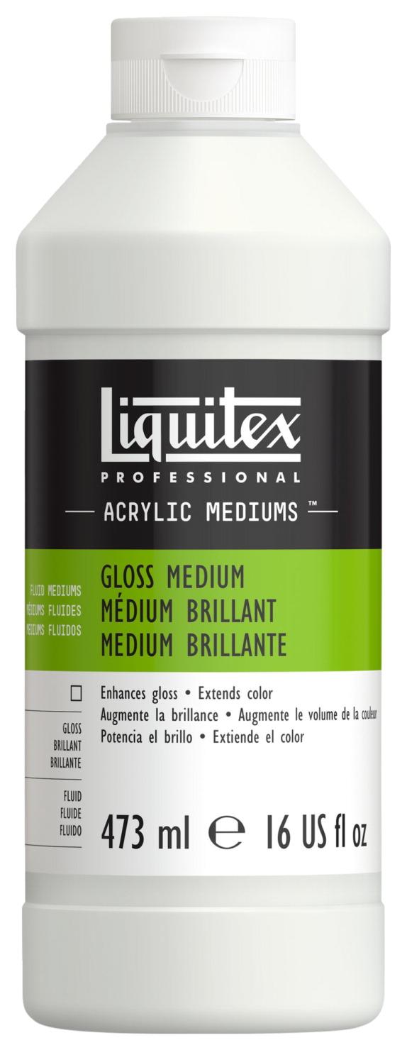 Acrylic medium and varnish school specialty marketplace for Gloss medium for acrylic painting