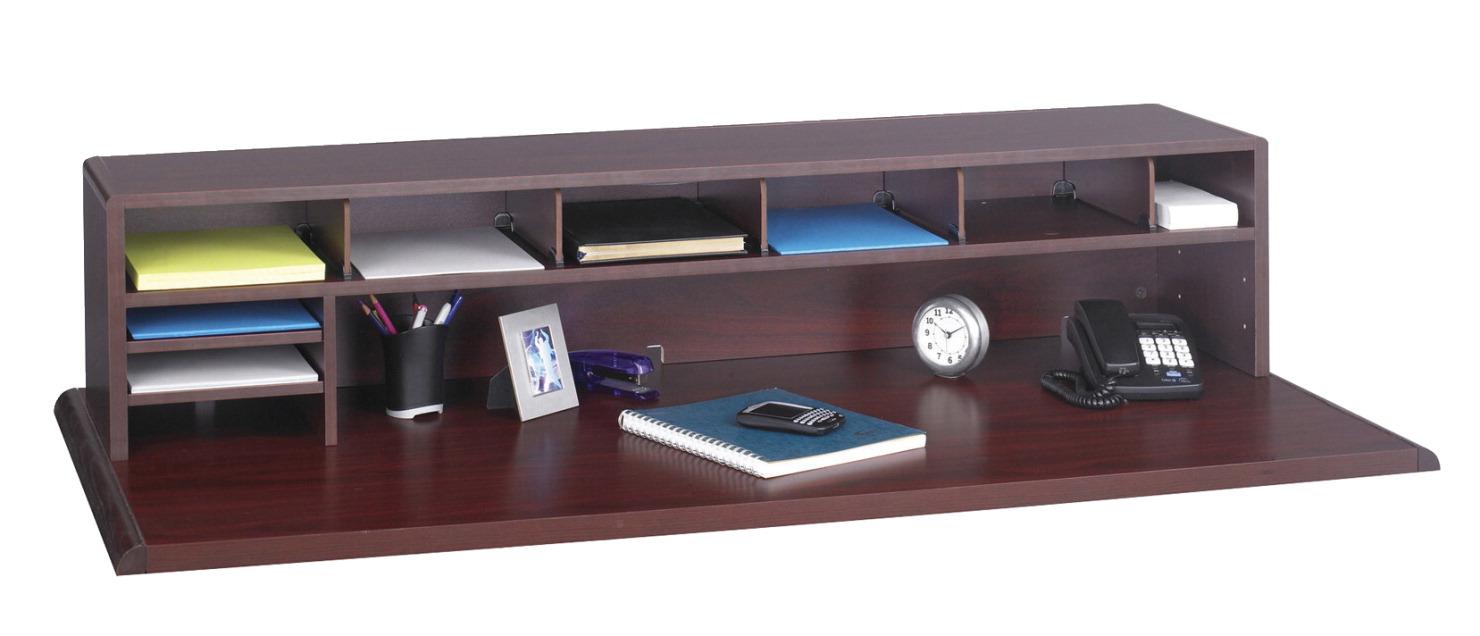 Safco Low Profile Desktop Organizer 57 1 2 W X 12 D