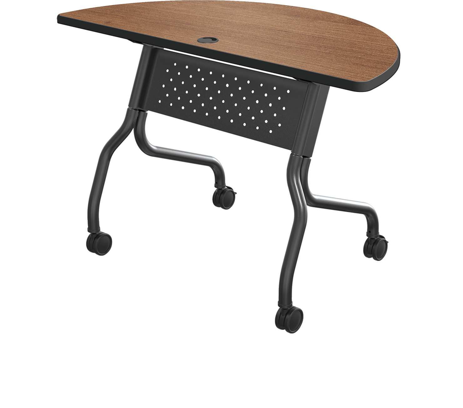 Flipper Computer Table SOAR Life Products - Lorell flipper training table