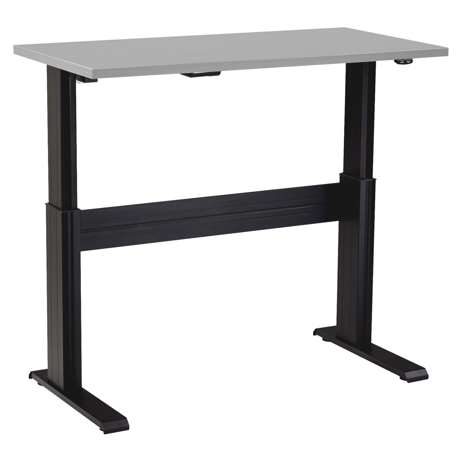 Lorell electric adjustable table base 48 in black school specialty market - Table basse ajustable ...