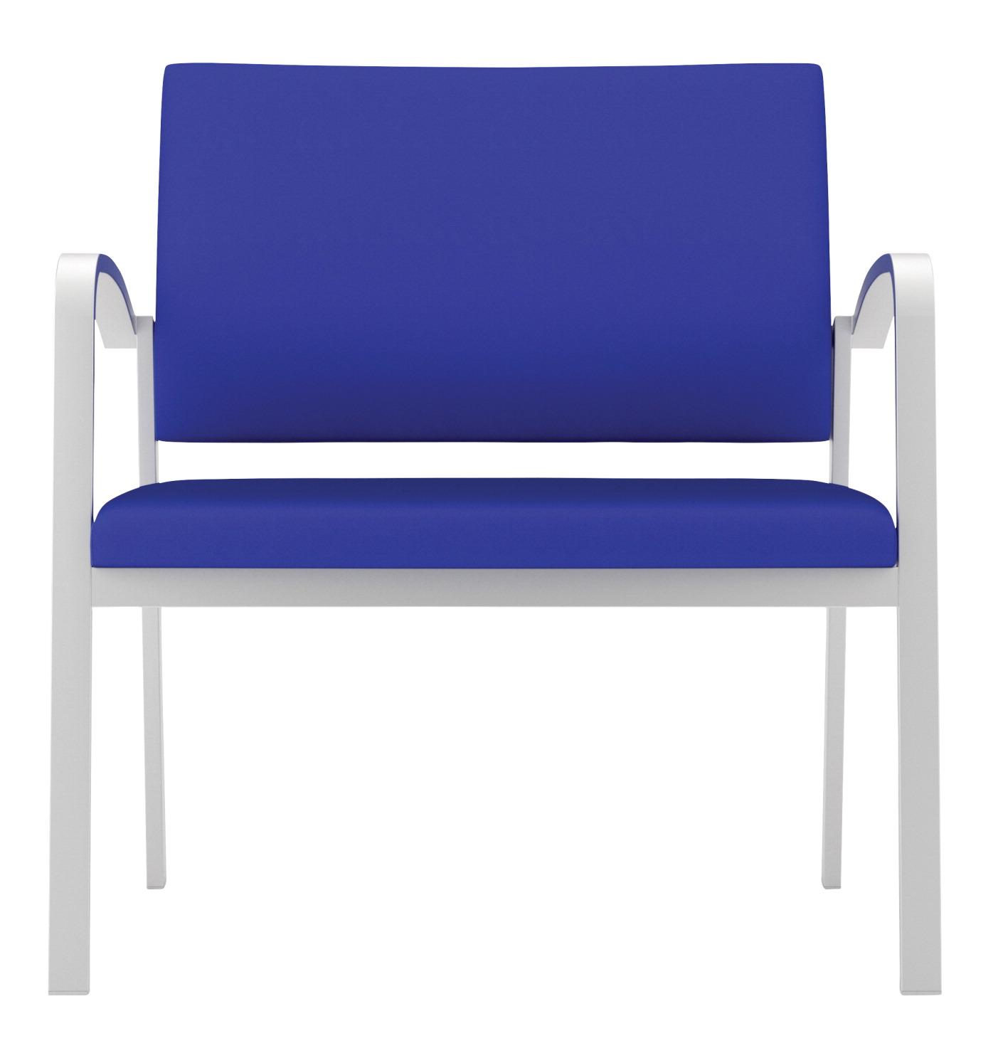 Lesro Newport Bariatric Guest Chair 750 LB Capacity 33 W