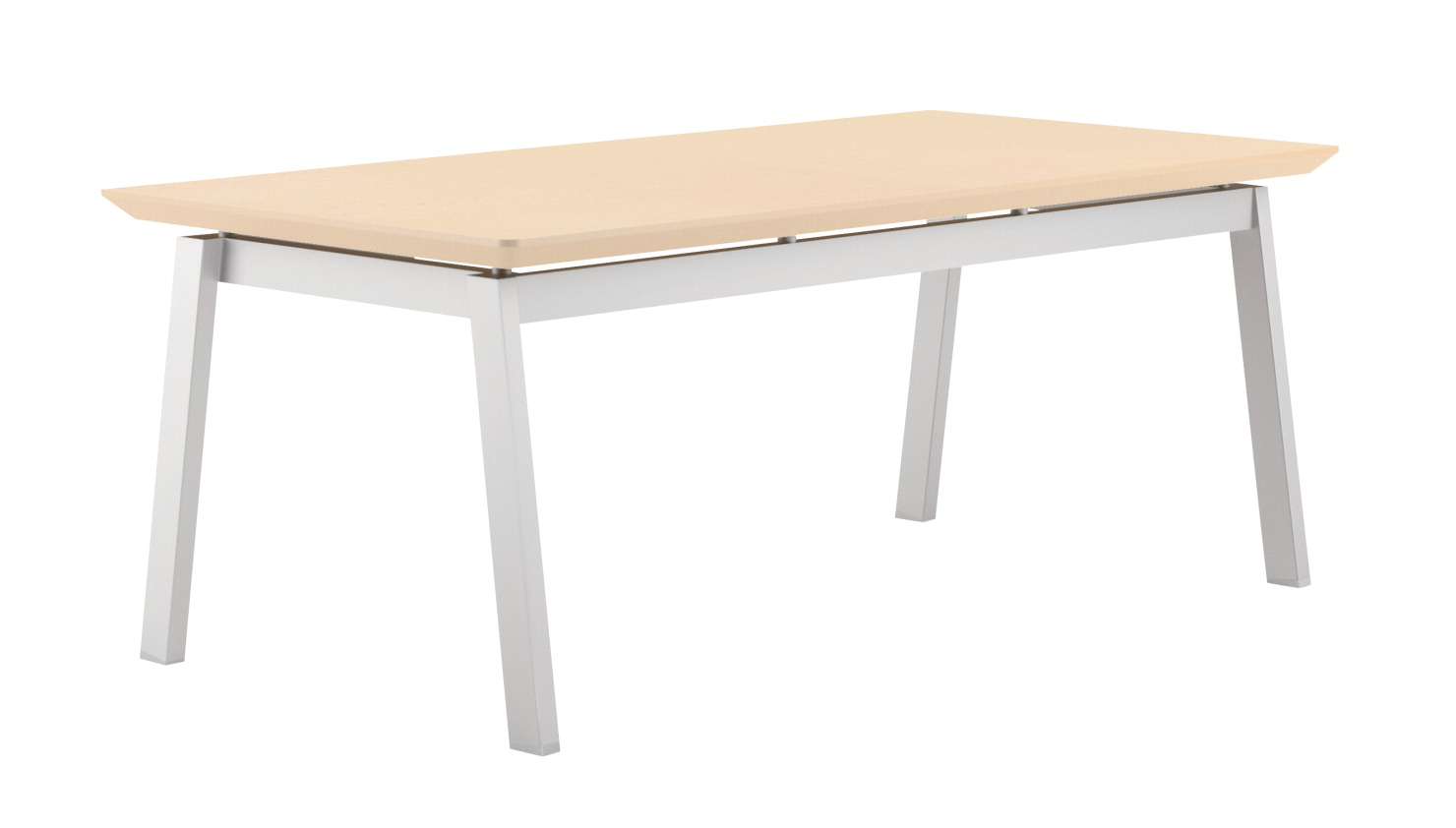 Lesro Newport Coffee Table With 4 Legs 40 X 20 X 16 Inches Various Options School Specialty