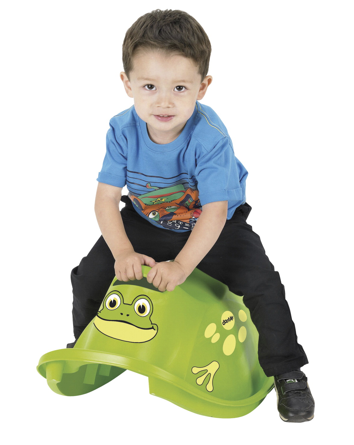 Dantoy Plastic Frog Rocker, 2 Pounds, Ages 12 Months and Up, Green