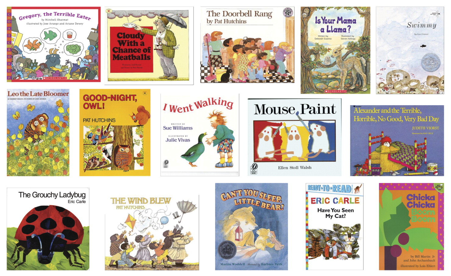 School Specialty Children's Favorite Library Books, Set of 15