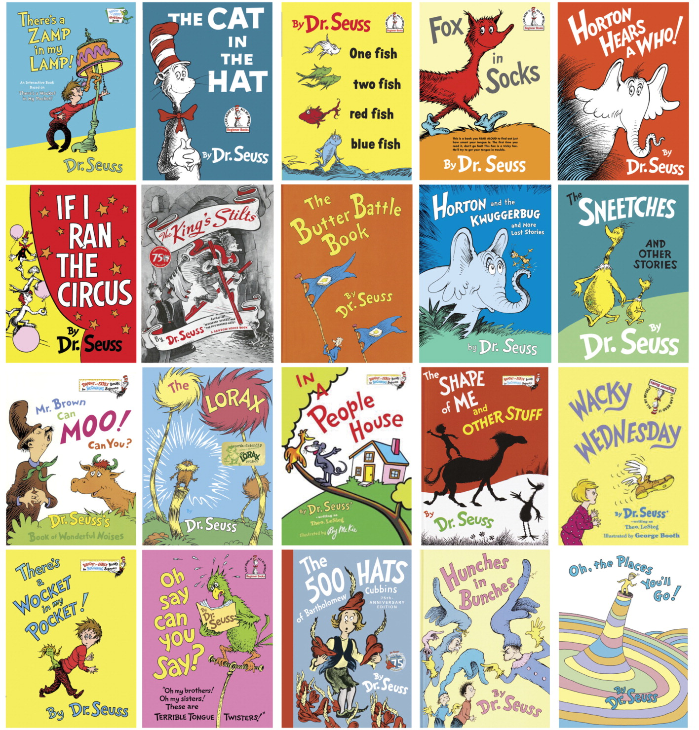 School Specialty Dr. Seuss Book Set One, Set of 20