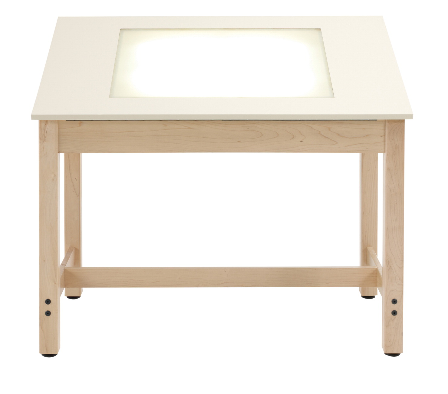 Diversified Woodcrafts Drafting Light Table, 44 x 24 x 39-3/4, Maple