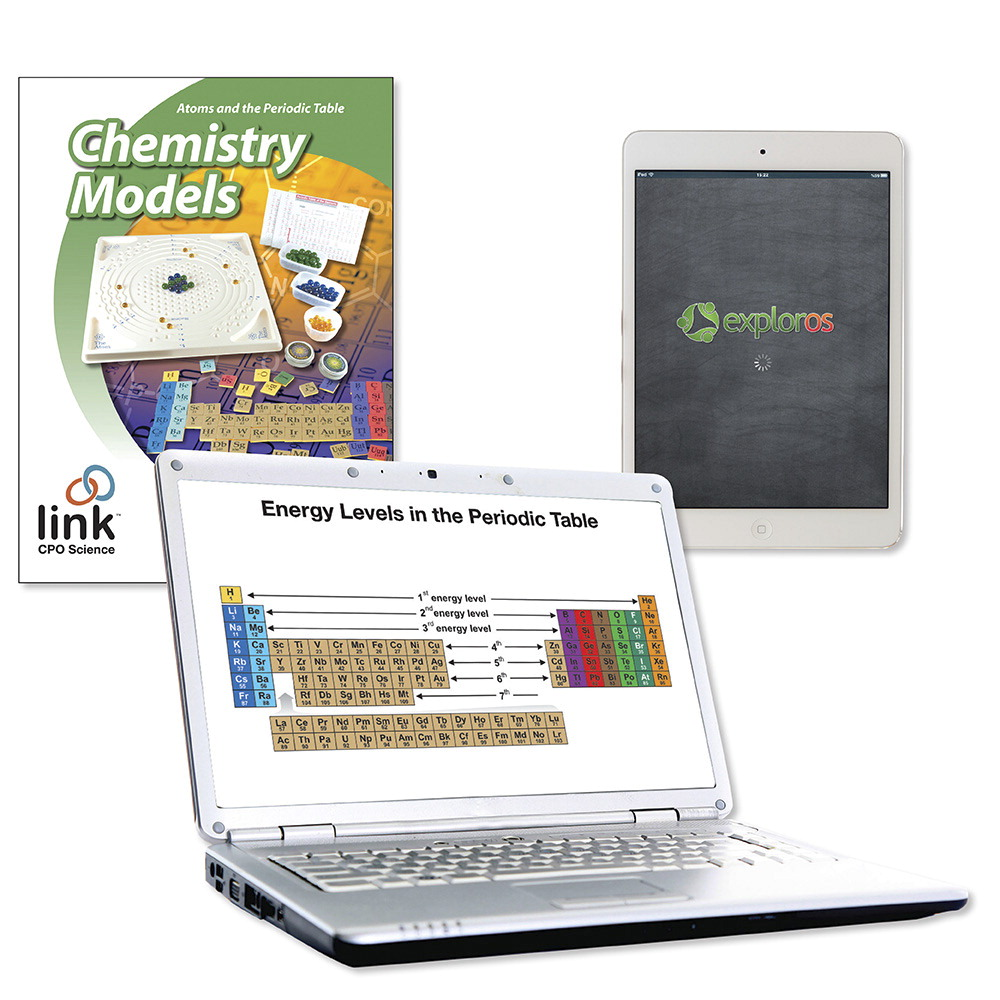 CPO Science Link Chemistry Models Teacher's Guide with Digital Access