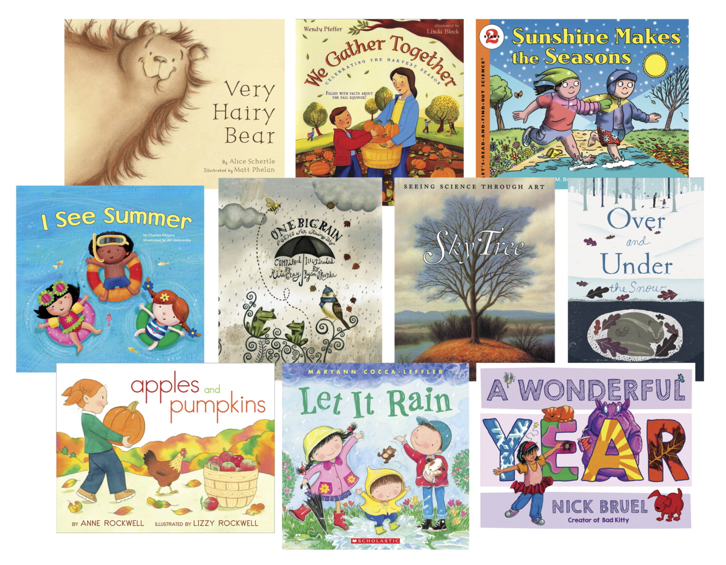 School Specialty Seasons Books, Set of 10