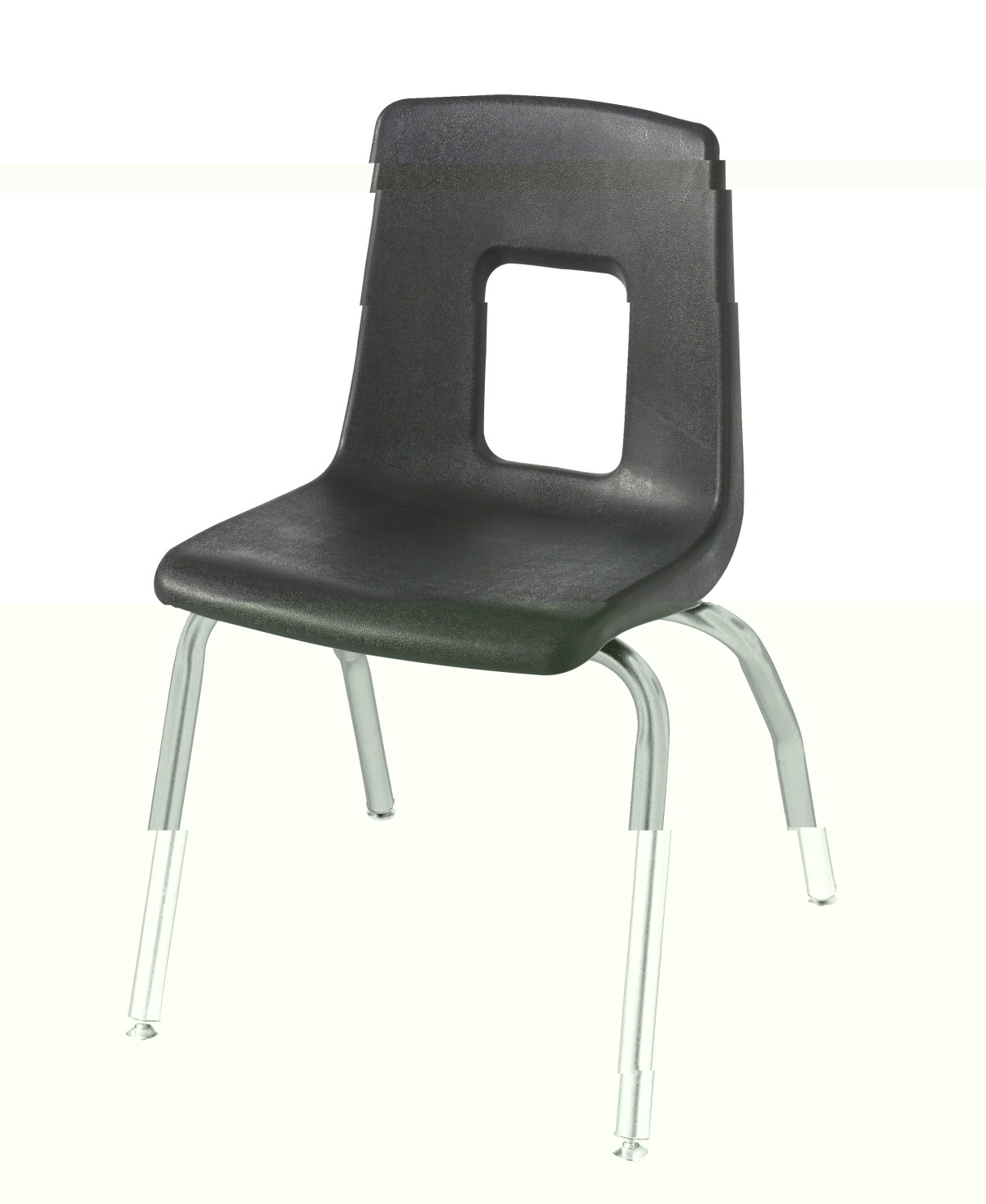 Classroom Select Traditional Music Chair, 18-1/2 A+ Inch Seat Height, Chrome Frame, Various Options