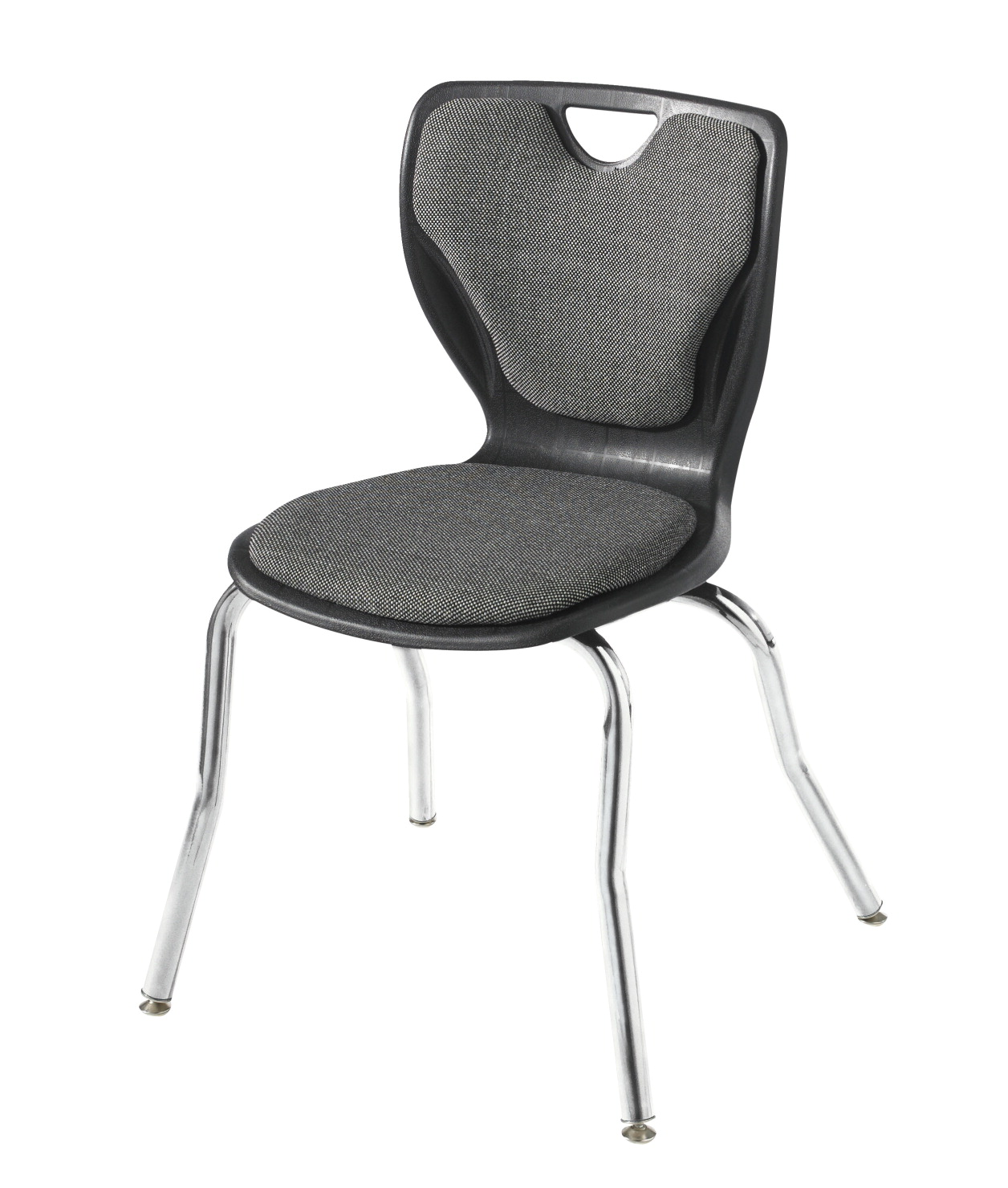 Classroom Select Contemporary Music Chair, Padded, 18 Inch Seat Height, Chrome Frame, Various Options
