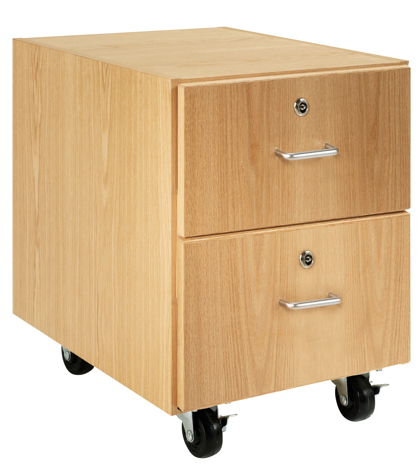 Diversified Woodcrafts M Series Mobile Storage Cabinet, Hinged Left Door, 1 Drawer, 24 x 22 x 30 Inches