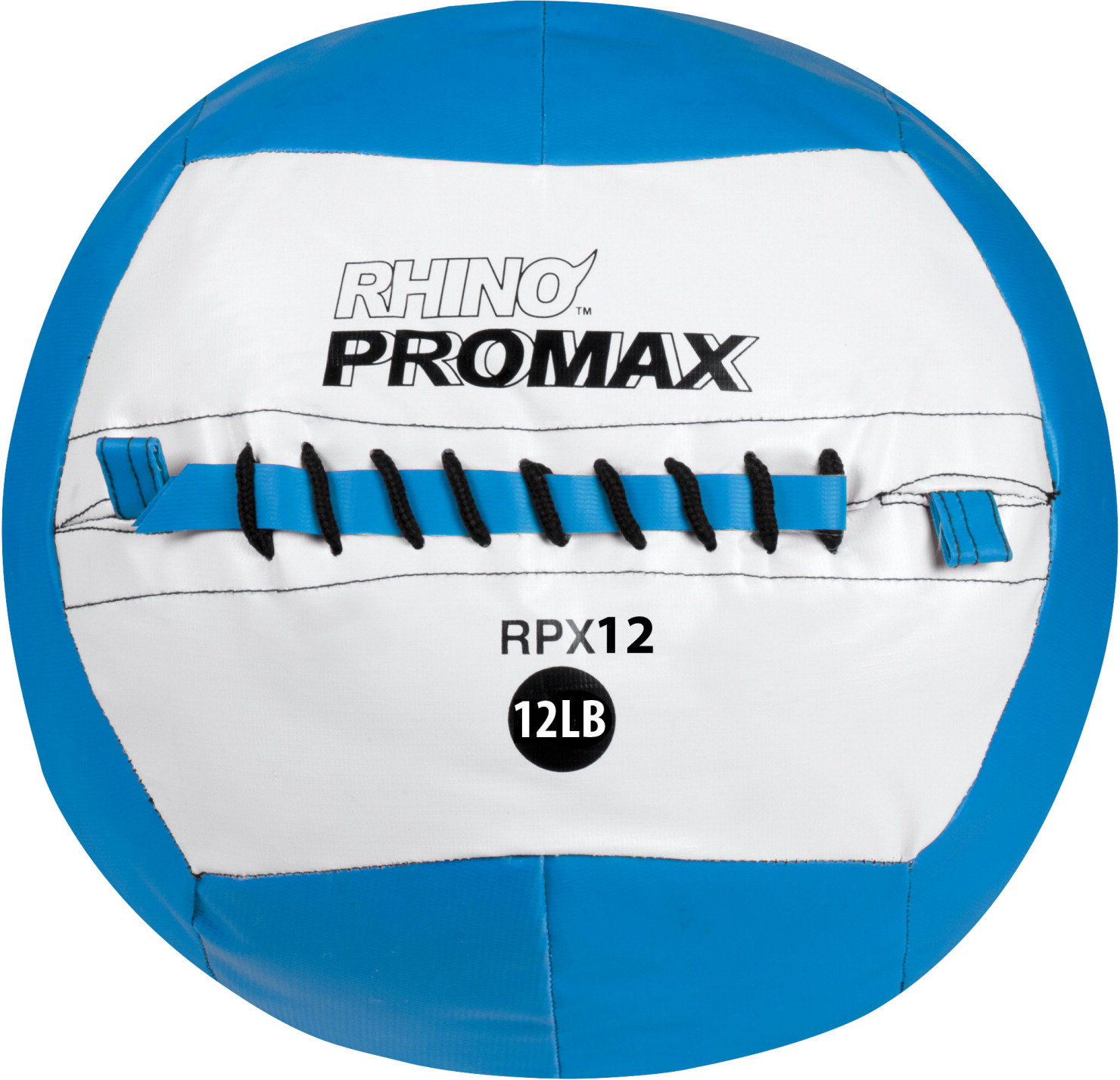 Champion Sports Rhino Skin Promax Slam Ball, 12 lb, Blue