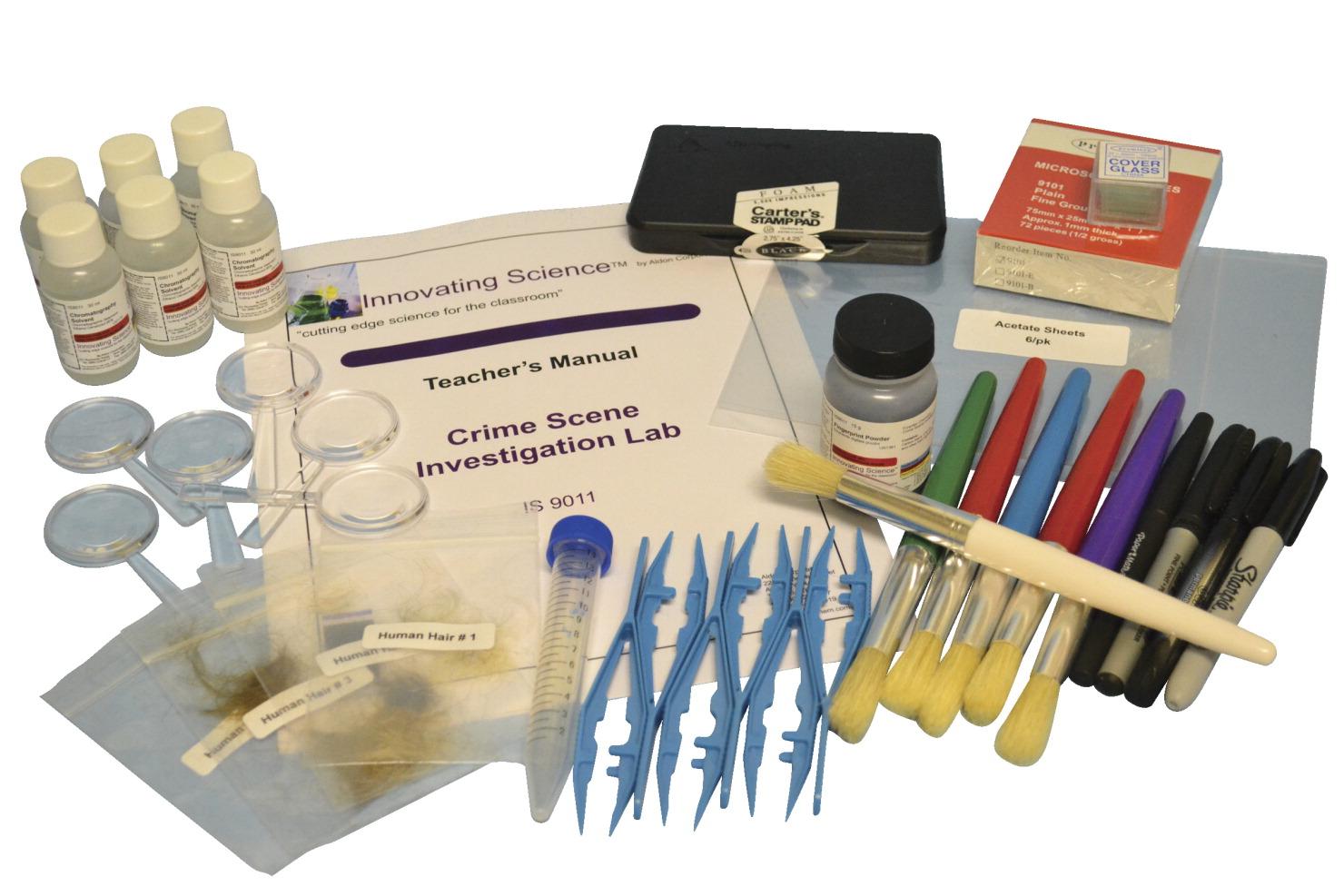 Innovating Science Investigation Kit-Crime Scene Investigation Kit