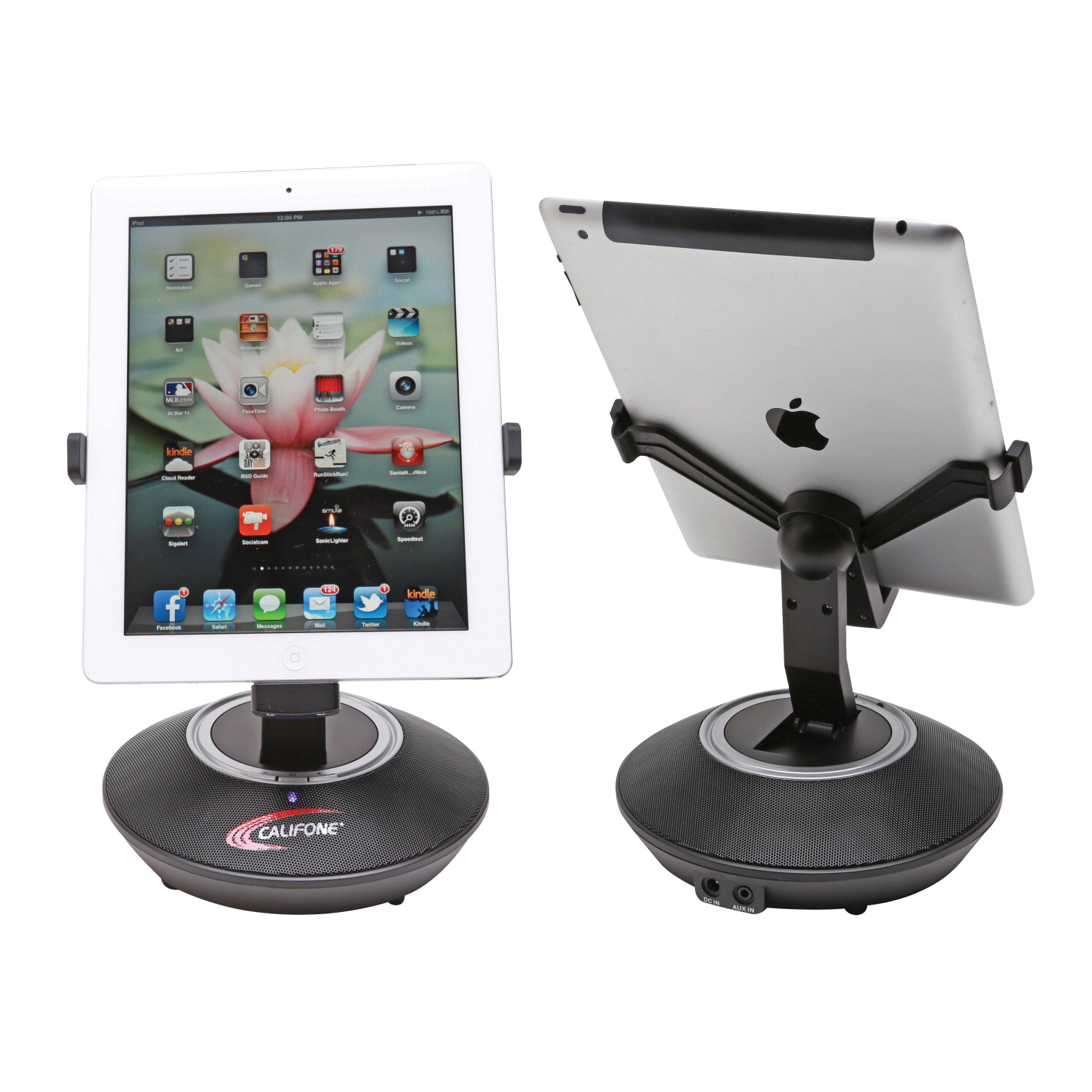 Califone PA-MBiOS iPad and iPhone Docking Station with Built-in Speakers