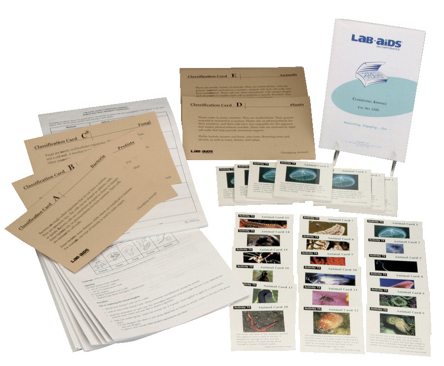 Lab-Aids Classifying Animals Kit