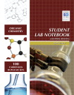 Hayden-McNeil Organic Chemistry Spiral Bound Top-page Perforated Student Lab Notebook, 8.5 L x 11 W in, 100 Pages