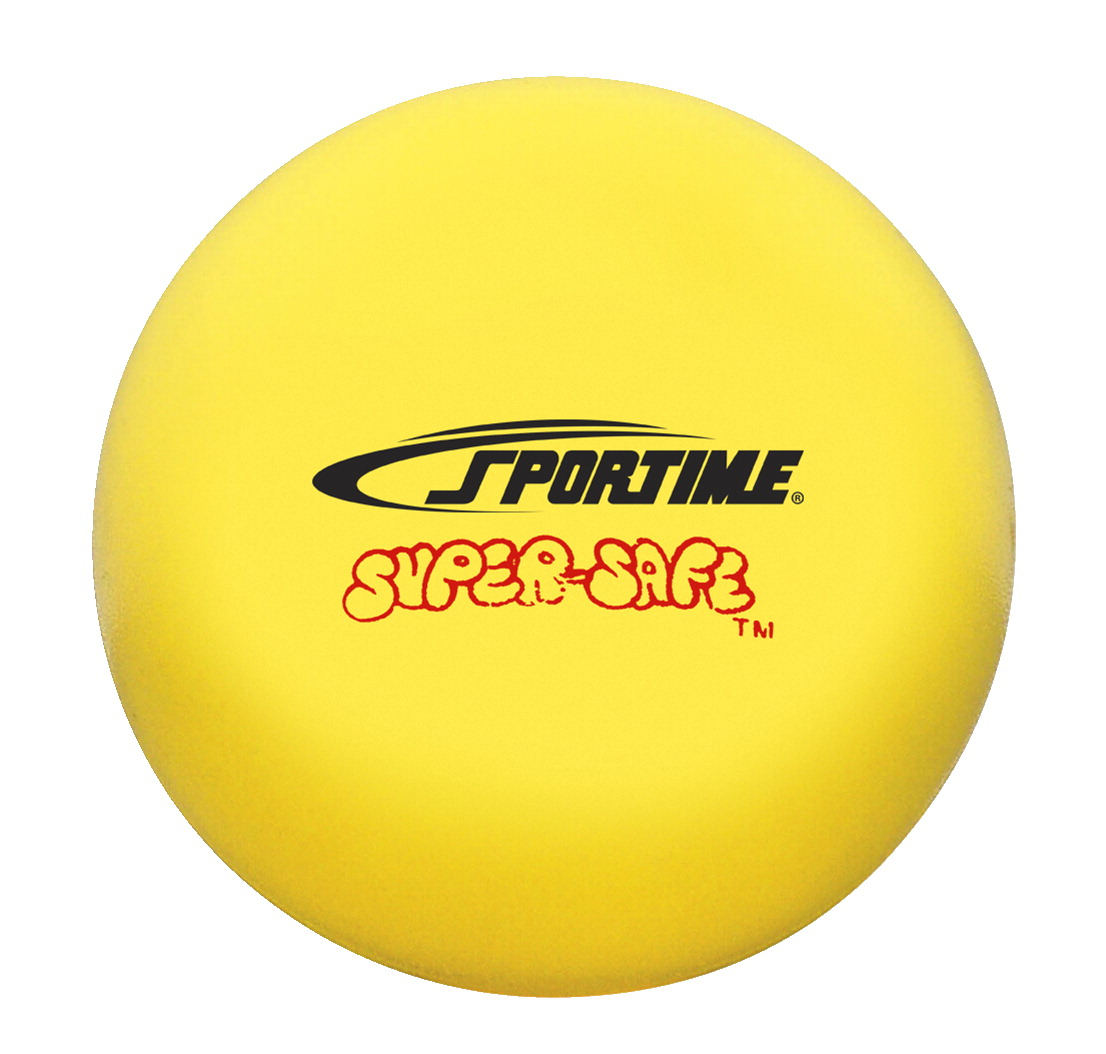 Sportime Super-Safe Softball, 4 Inches, Yellow