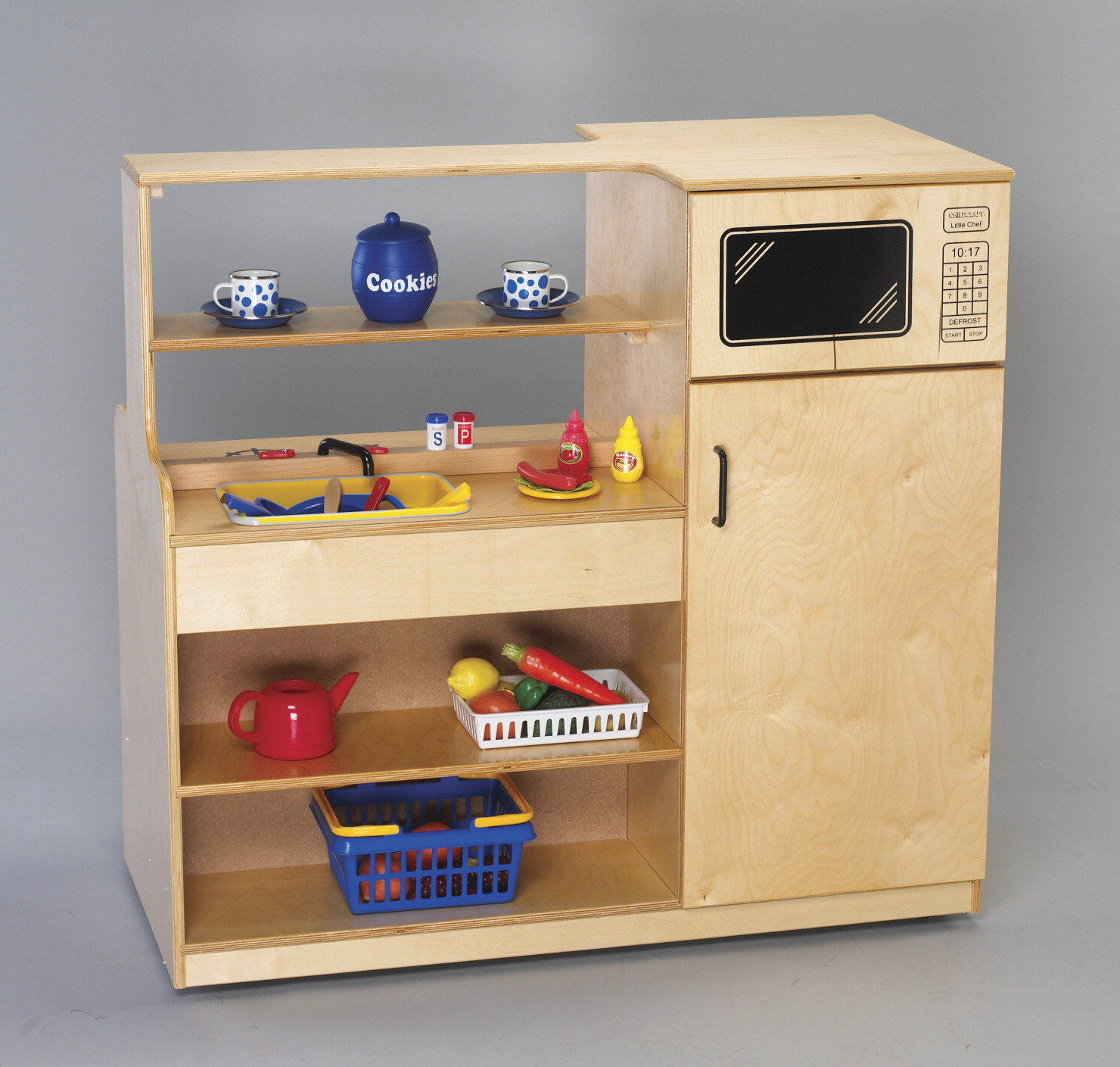 Mobile island kitchen school specialty marketplace for Child craft play kitchen