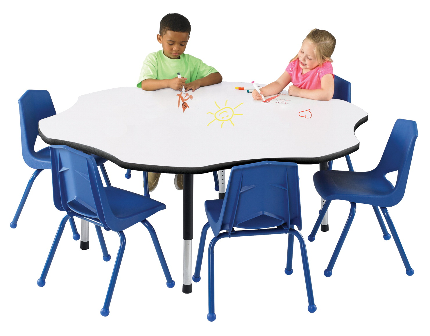 Classroom select markerboard activity table white for Table design using jsp
