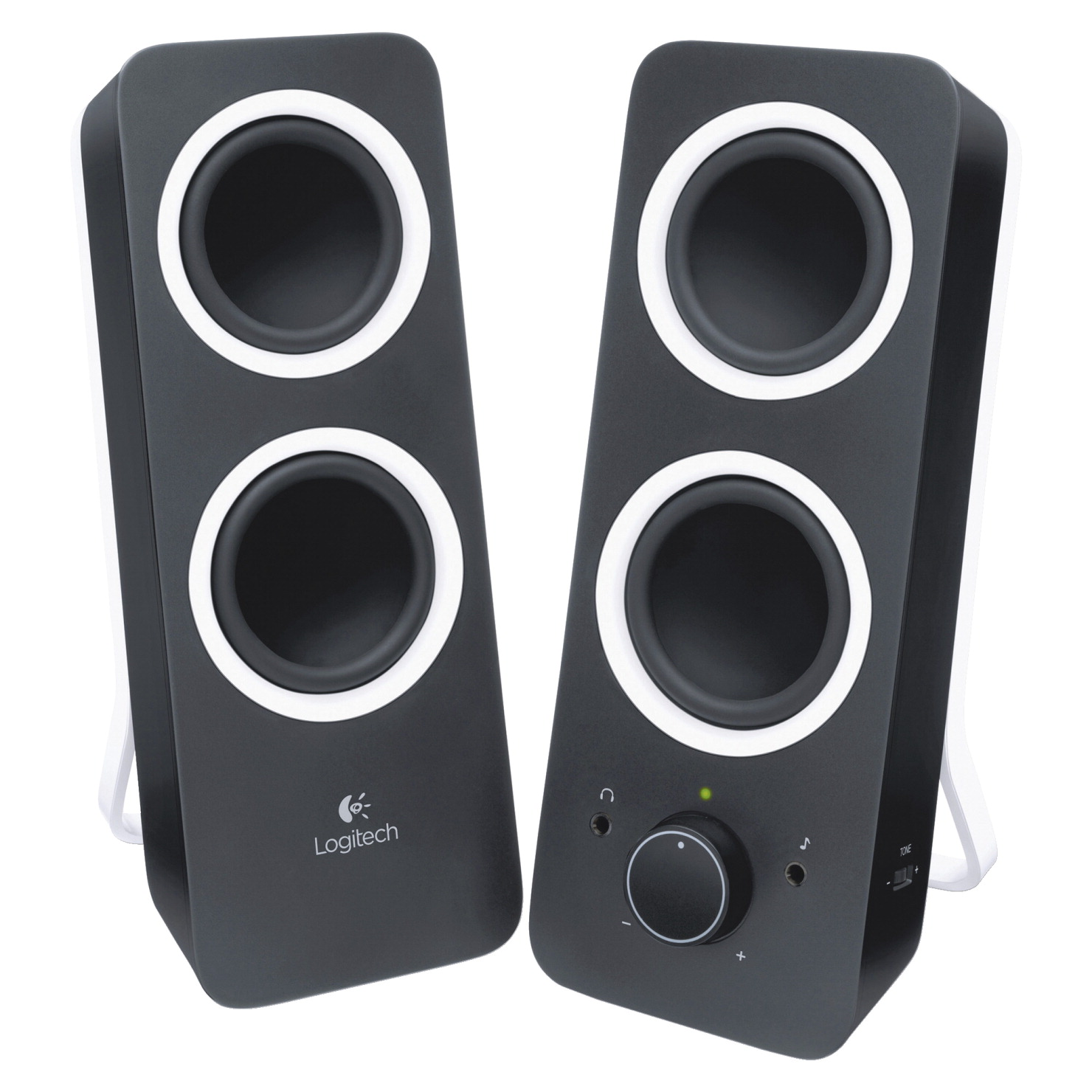 Logitech Z200 Multimedia Speaker, 10 Watt, Black