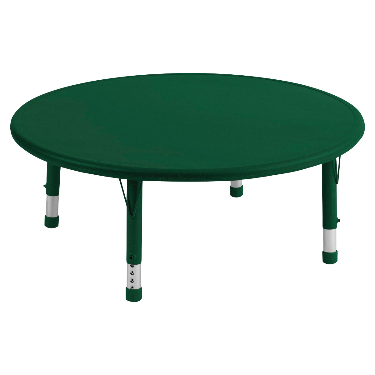 Ecr4kids resin activity table round 45 inches for Html table options
