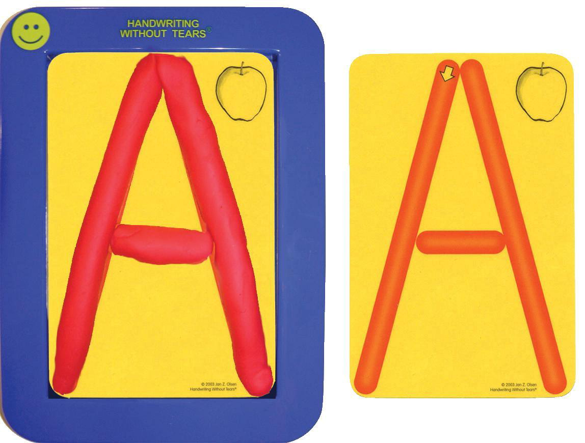Handwriting Without Tears Pre-Writing Roll-A-Dough Letters and Numbers Set,  4 X 6 in, Plastic
