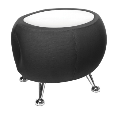 OFM Jupiter Table Black With White Top SCHOOL SPECIALTY