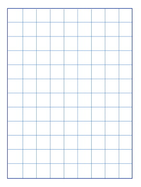 School Smart Graph Paper 1 Inch Rule 9x12 Inches Manila