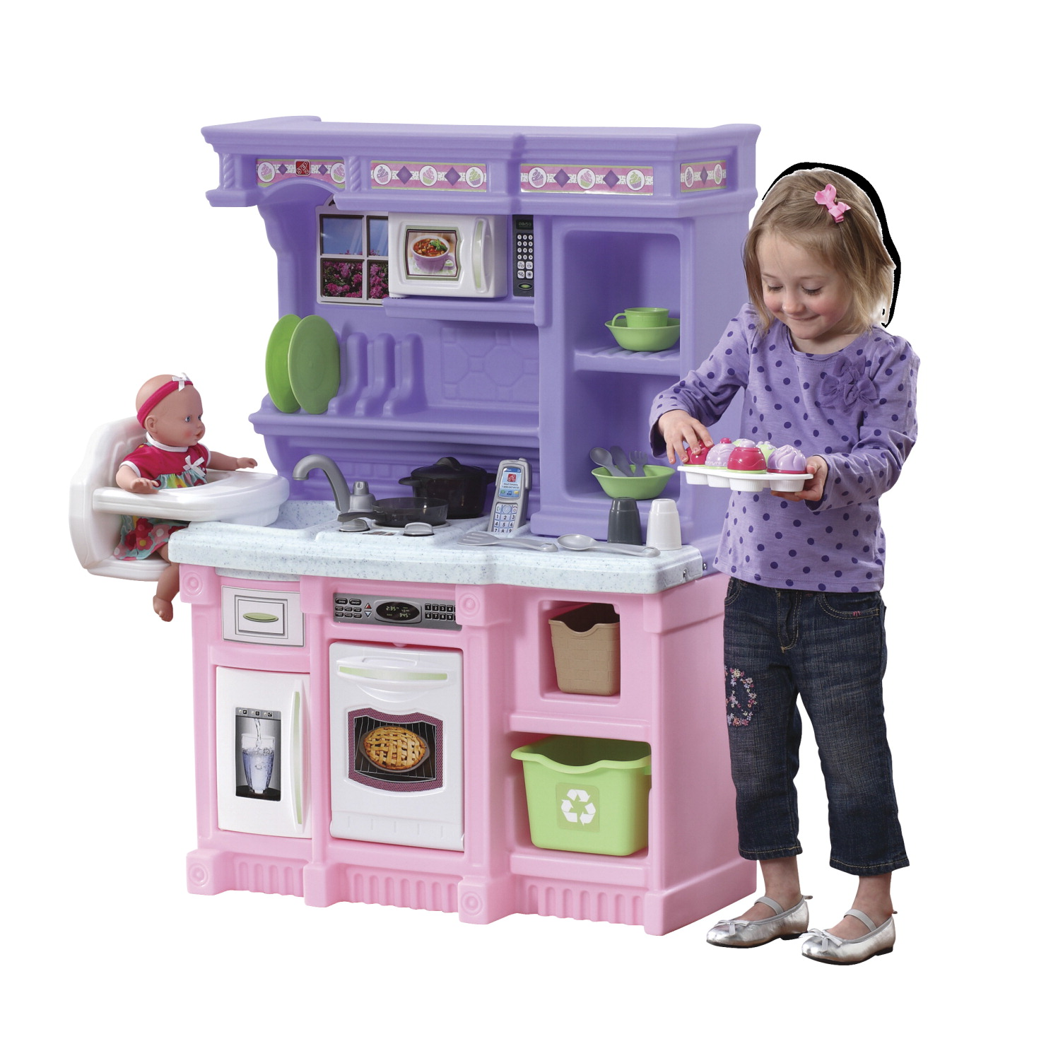 Step2 little bakers kitchen school specialty marketplace for Child craft play kitchen