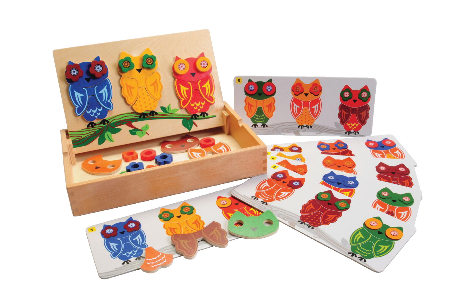 Marvel Education Mix and Match Magnetic Owls