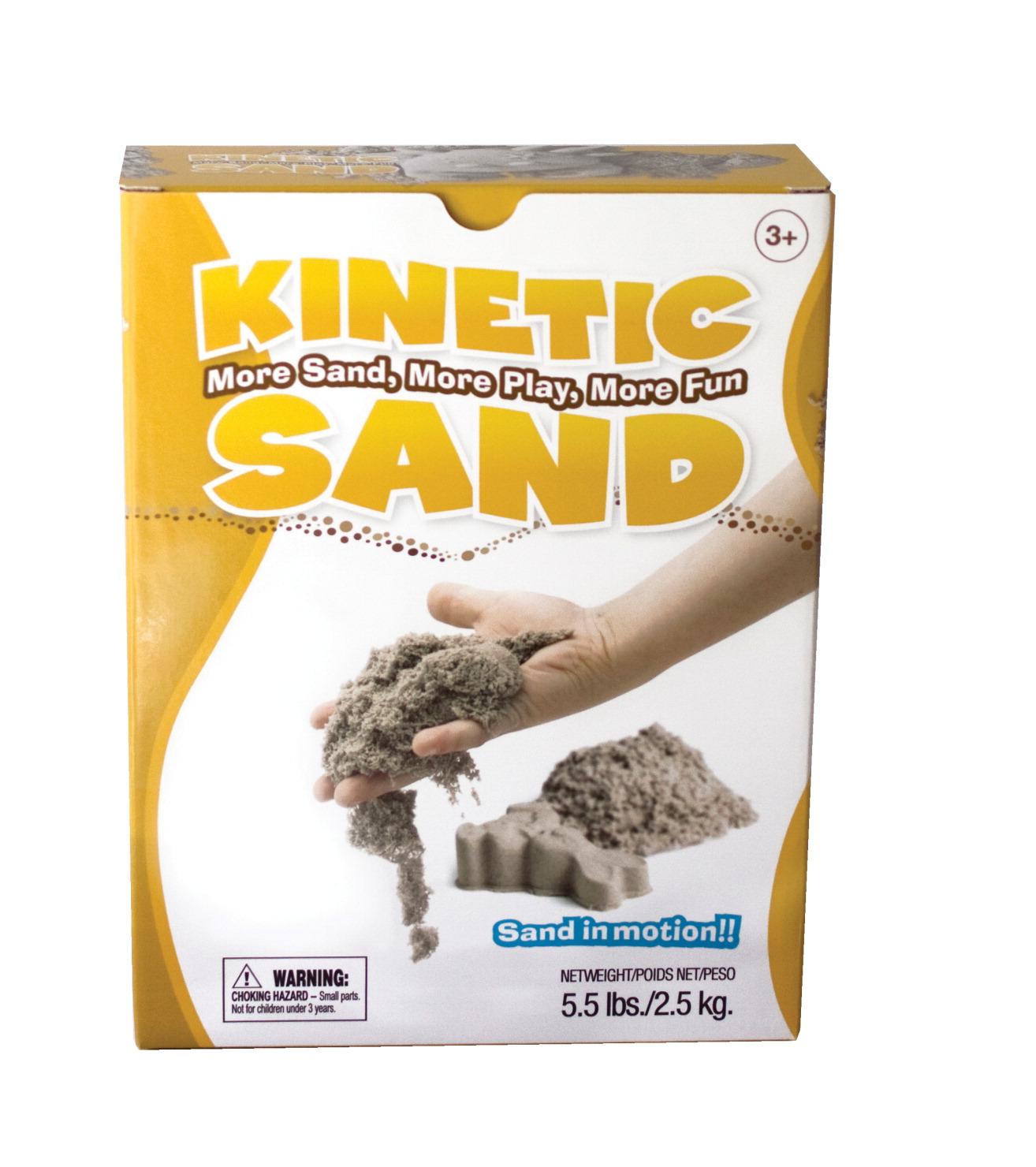 WABA Fun Kinetic Sand, 5.5 lbs, Tan