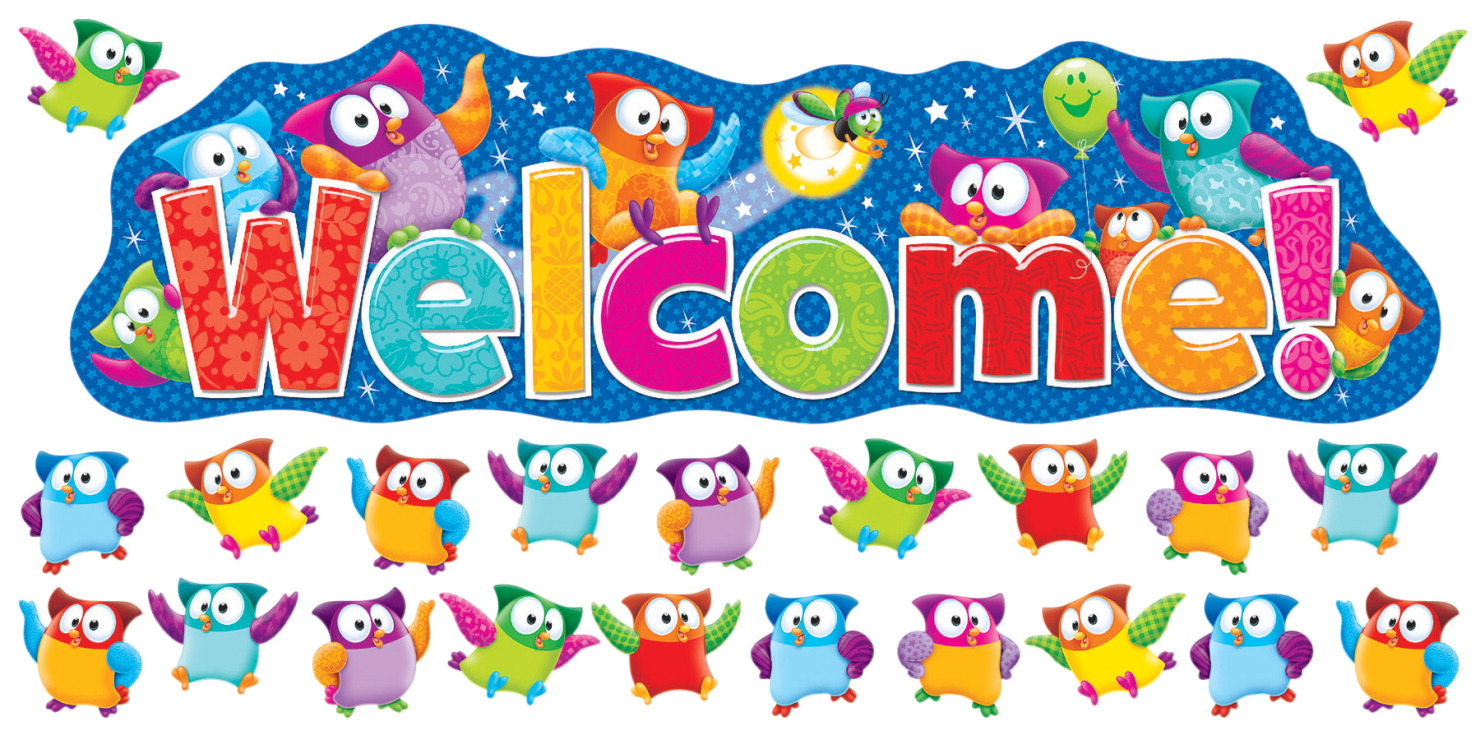 Classroom Welcome Design ~ Trend enterprises welcome bulletin board set classroom