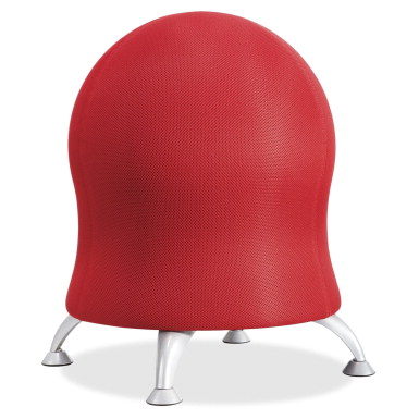 Safco Zenergy Ball Chair Crimson School Specialty