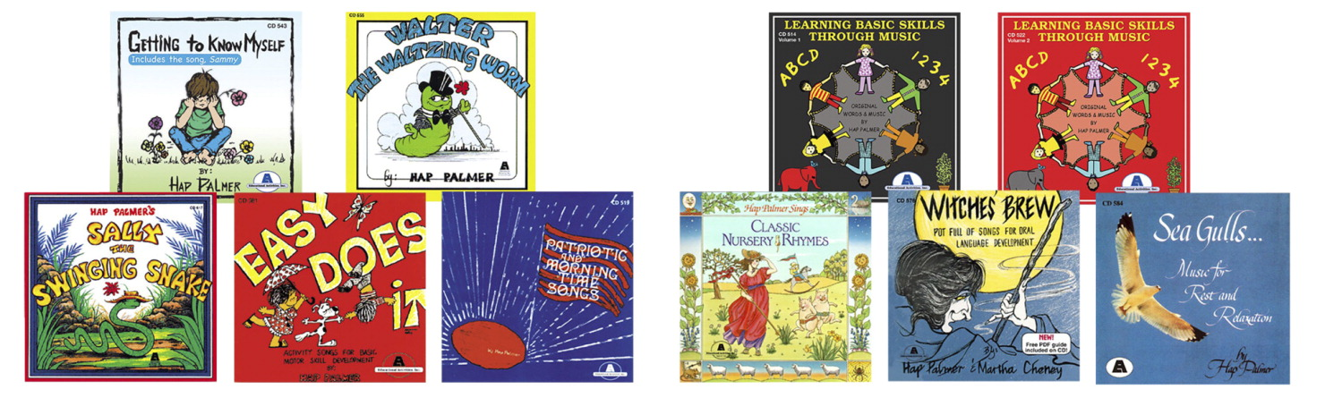 Educational Activities Best Loved Hap Palmer Complete CD Collection, Set of 10