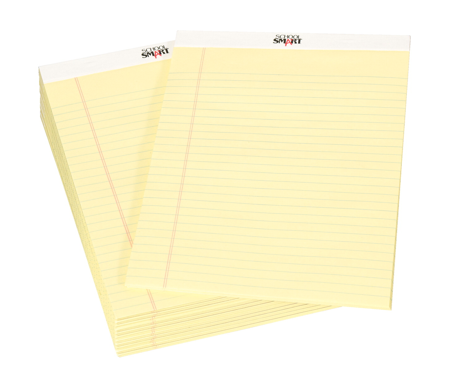 school smart legal pad canary yellow soar life products