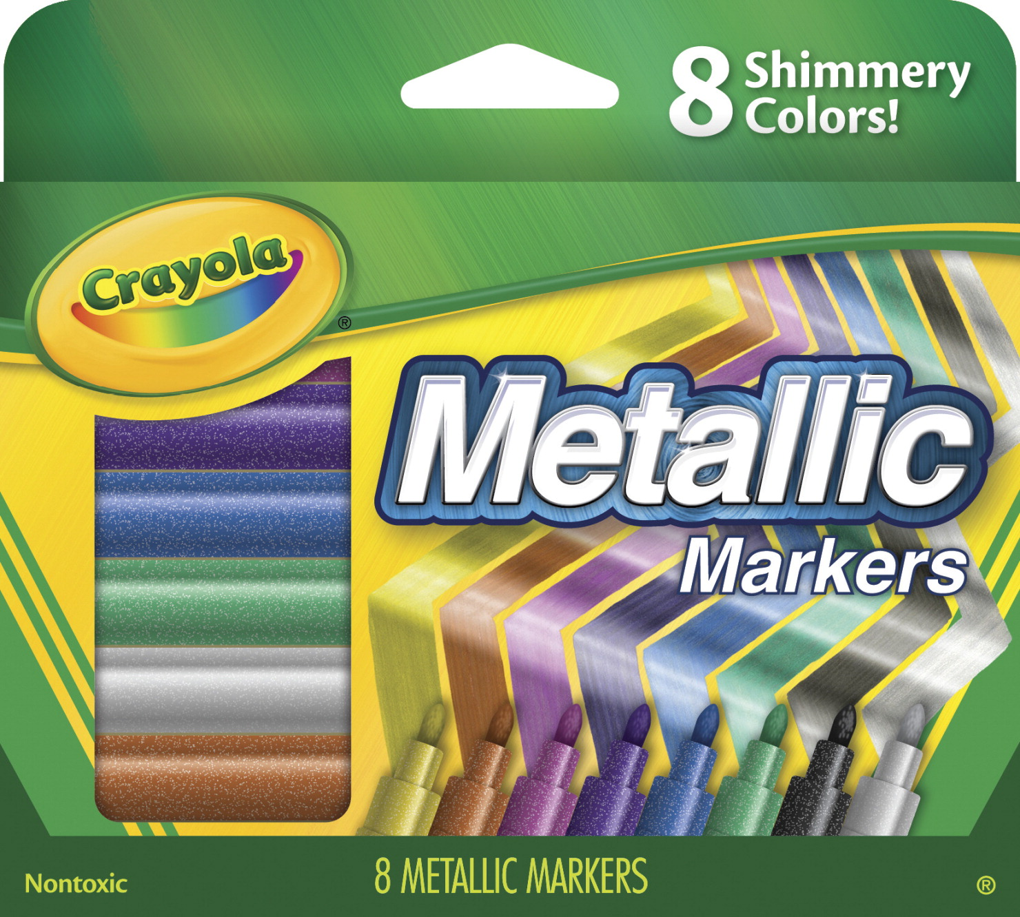 Crayola Metallic Marker Set, Assorted - CLASSROOM DIRECT