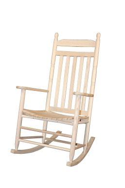 Dixie Seating Adult Rocker, Natural Finish - SCHOOL SPECIALTY ...