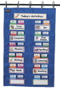 Classroom Management Charts, Classroom Management Systems, Classroom Calendar Pocket Charts, Item Number 085114