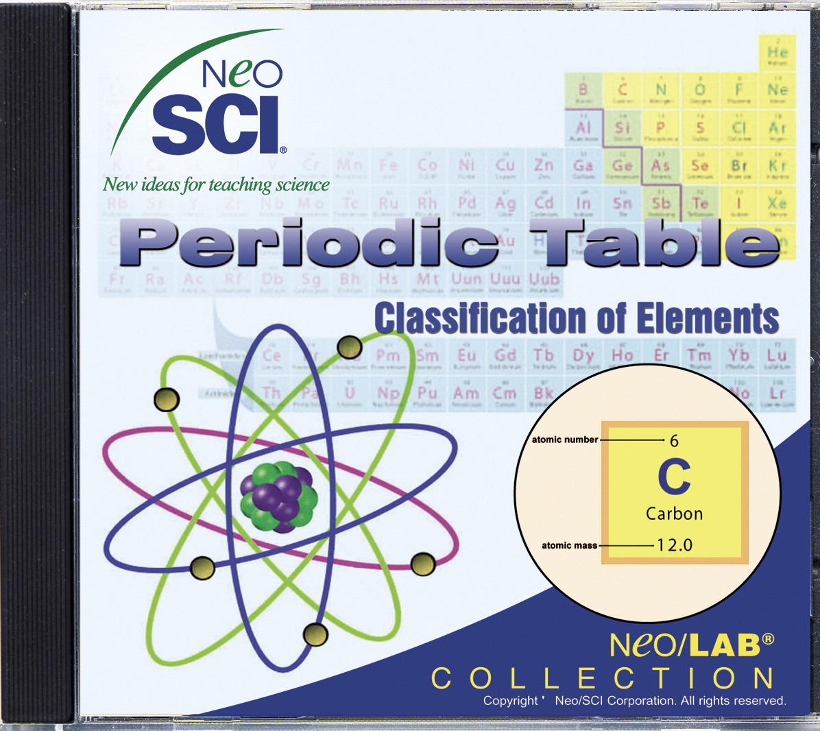 Cd rom frey scientific cpo science neosci the periodic table classification of elements middle school neolab software urtaz Image collections