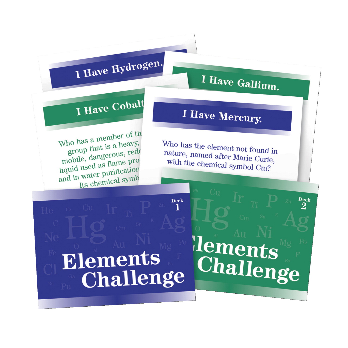 Trivia game frey scientific cpo science jb products elements challenge chemistry trivia game grade 5 9 urtaz Gallery