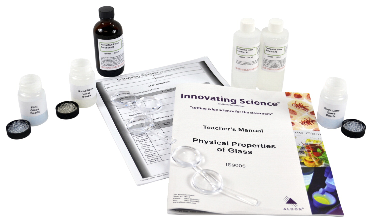 Innovating Science Physical Properties of Glass Kit