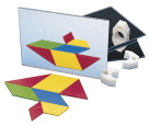 School Specialty Mirrors and Holders Set