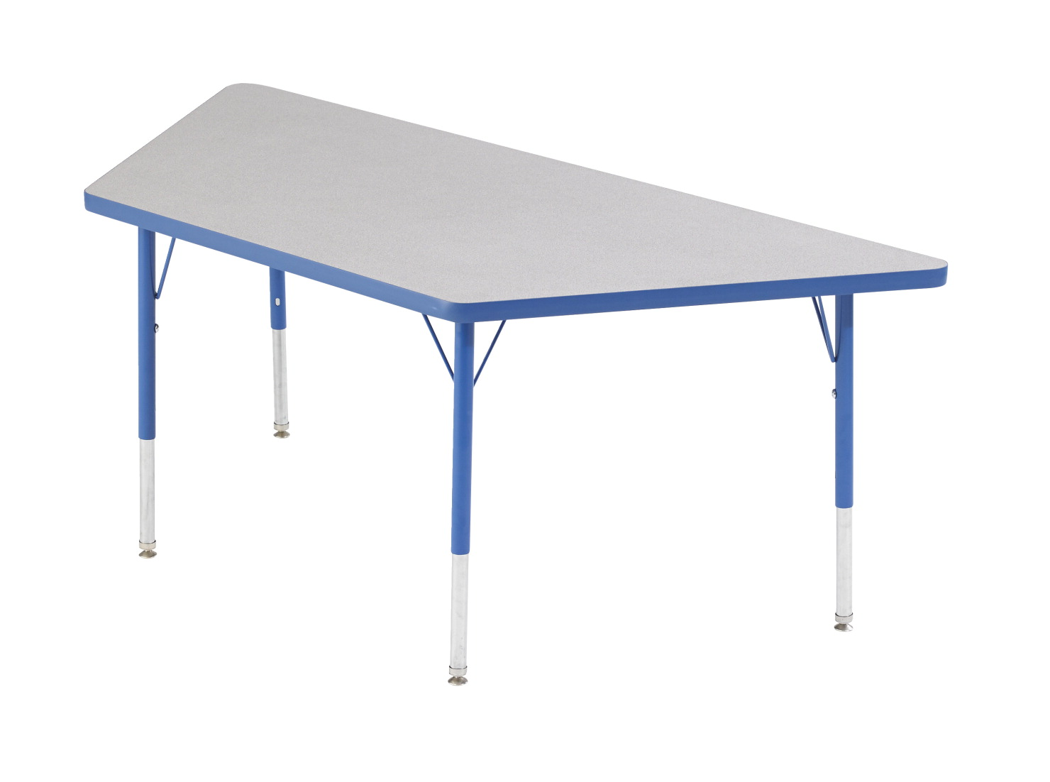 Classroom Select T-Mold Activity Table, Trapezoid, Adjustable Height, 30 x 30 x 60 Inches, Various Options