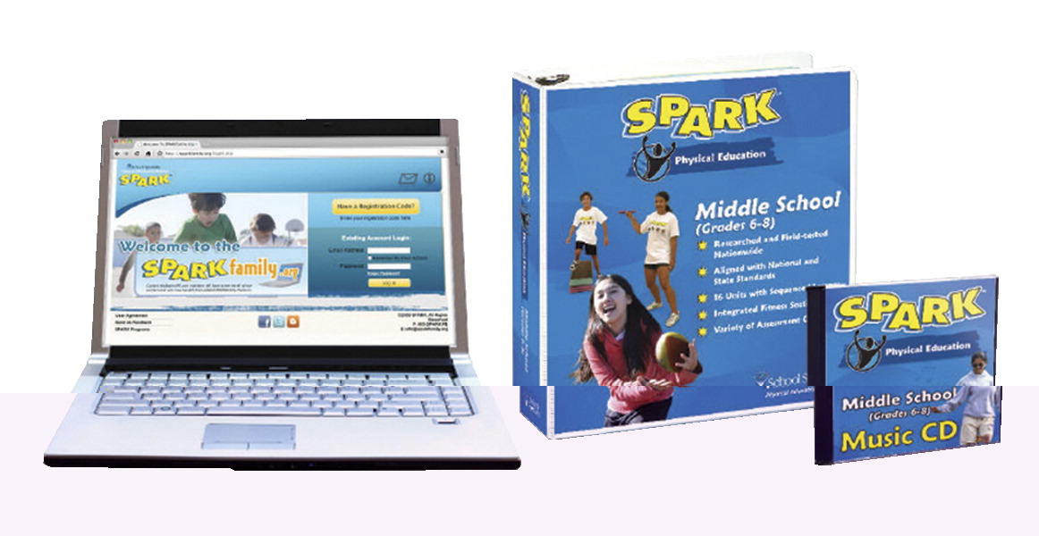 SPARK Middle School PE Curriculum Set 2